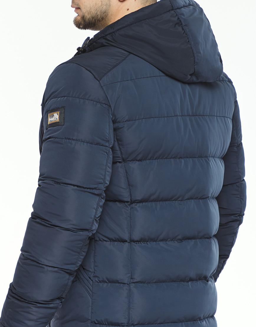 Синяя куртка на зиму модель 44516 фото 6