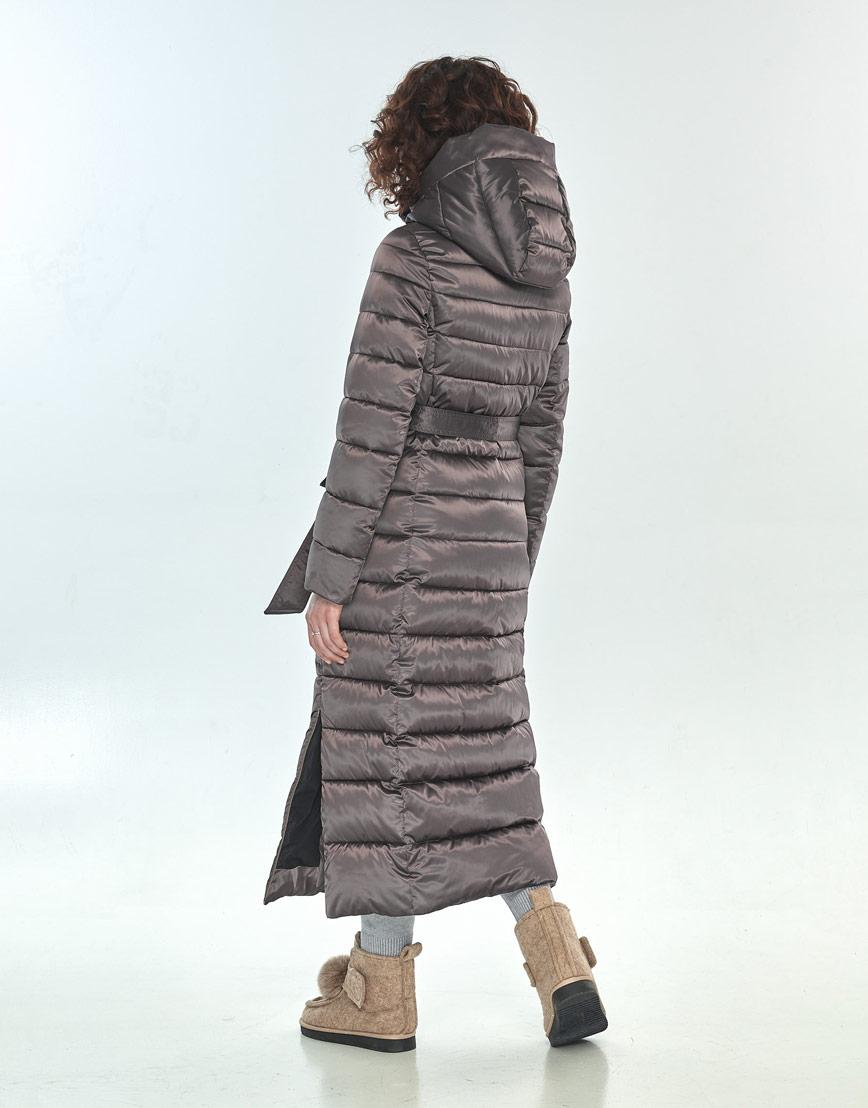 Куртка Moc капучиновая женская на зиму M6210 фото 3