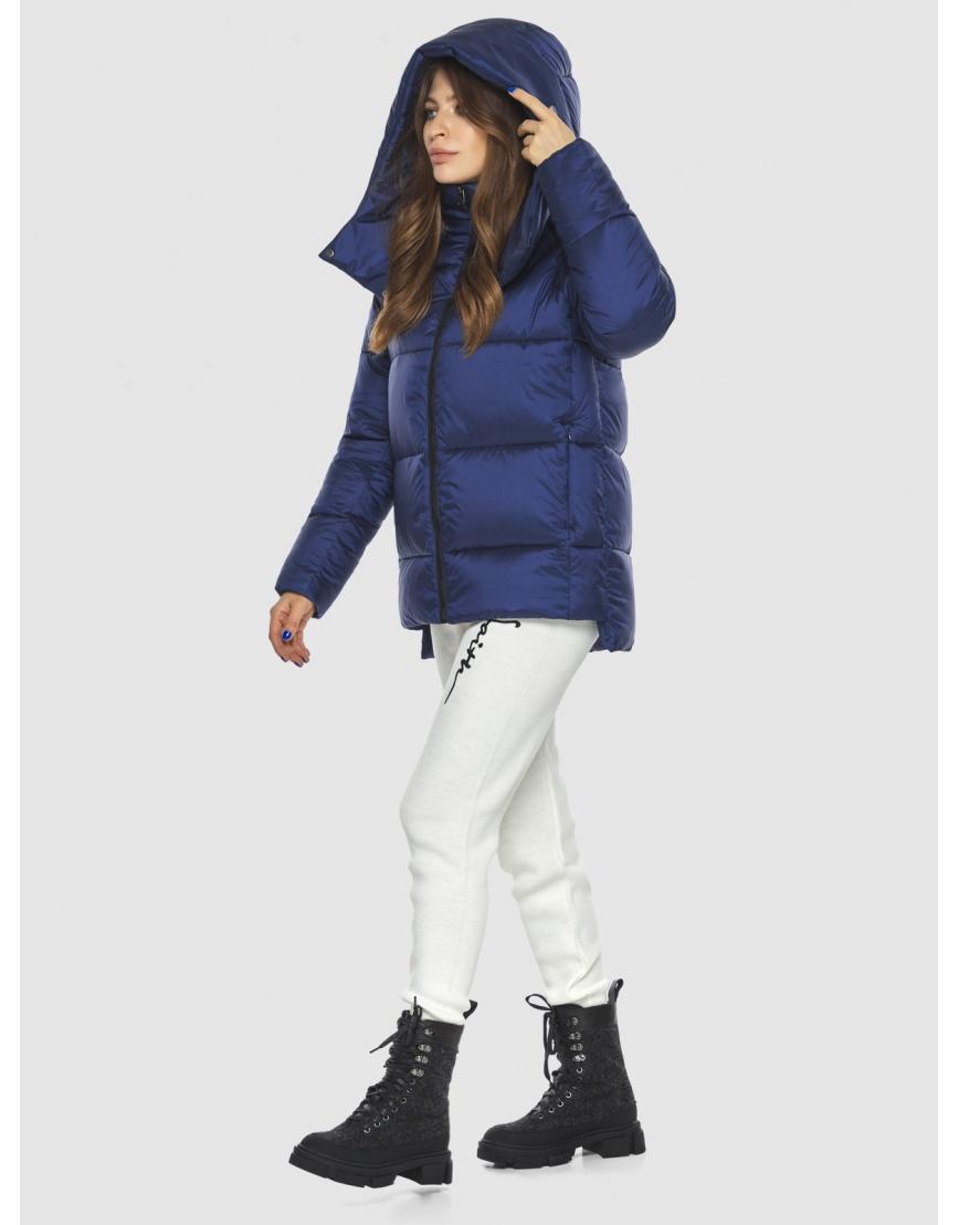 Синяя модная куртка женская Ajento 22430 фото 1