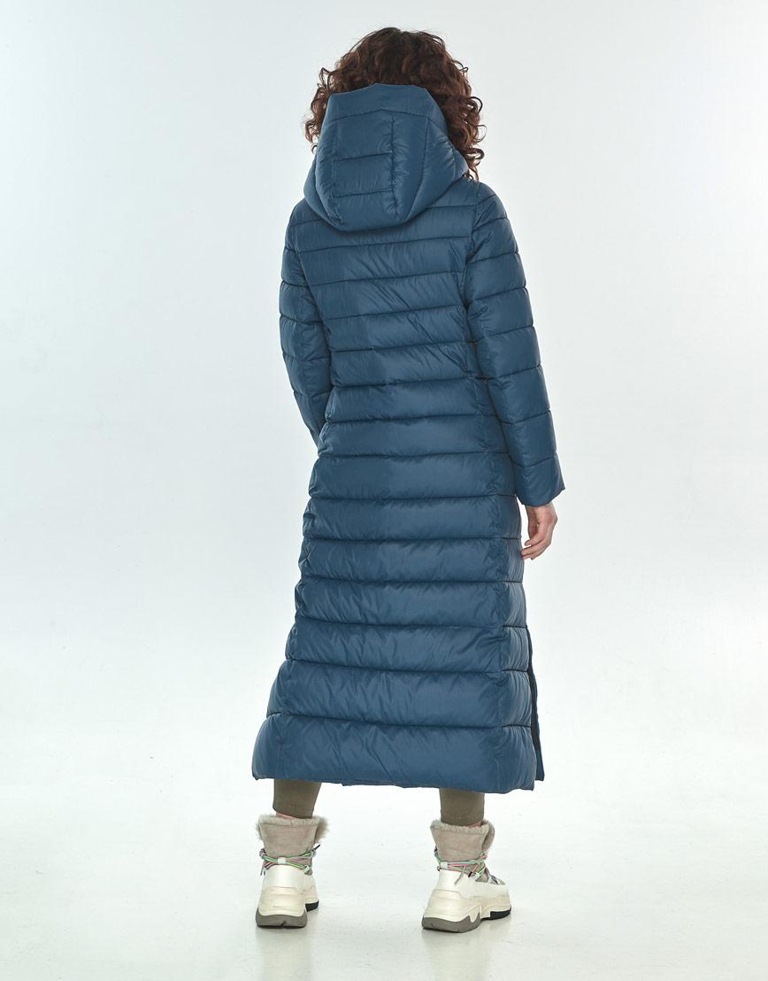 Практичная синяя куртка большого размера женская Moc M6210 фото 3