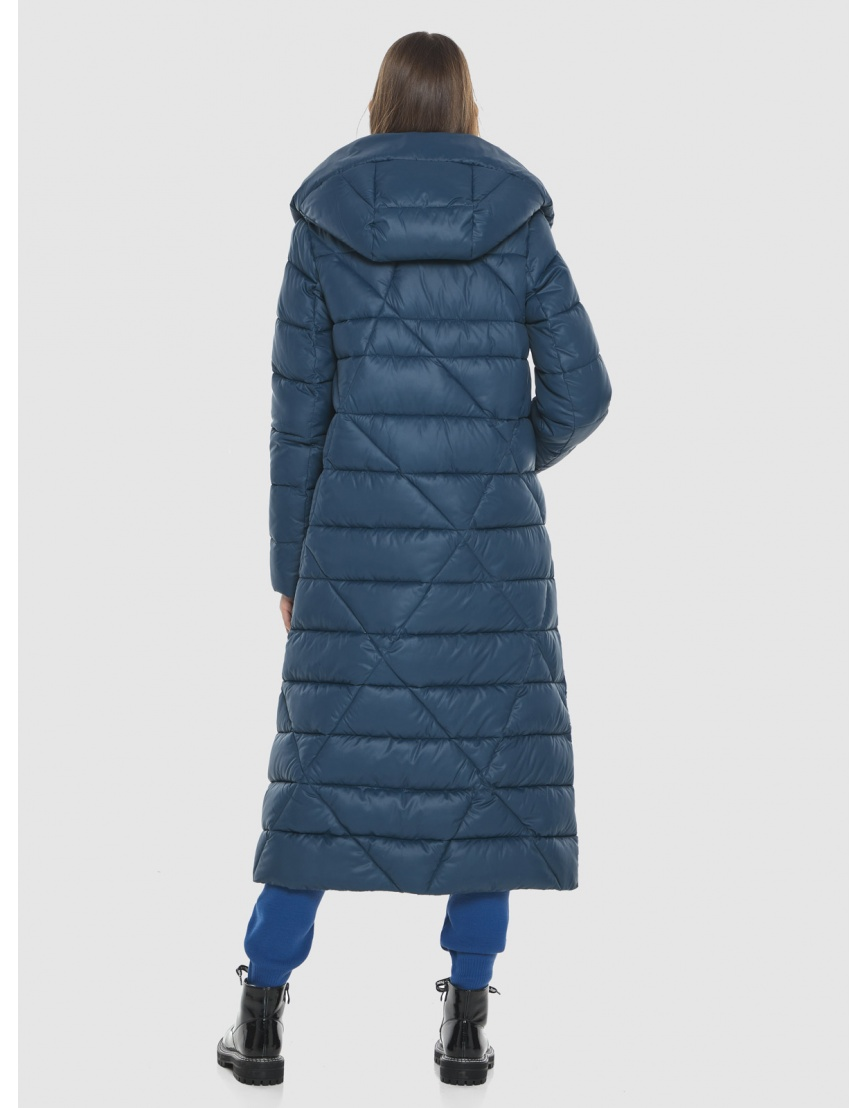 Брендовая куртка женская Vivacana синяя 9470/21 фото 4