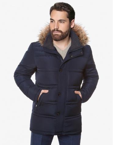 Утепленная куртка на меху модель 3865