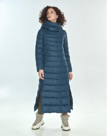 Зимняя синяя куртка женская Moc M6210 фото 1