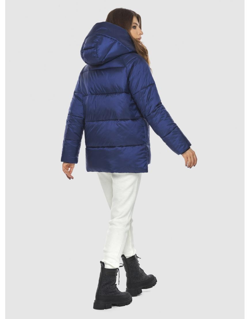 Синяя модная куртка женская Ajento 22430 фото 4