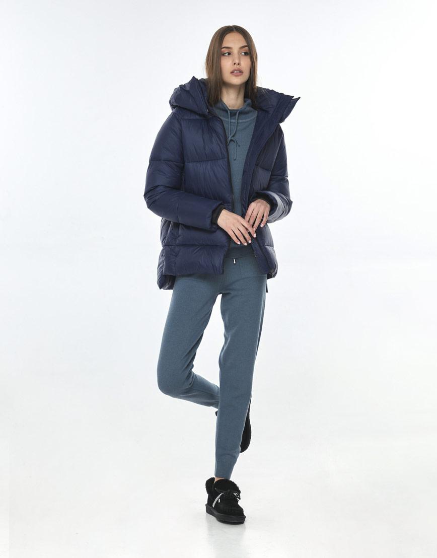 Куртка стильная синяя женская Vivacana 7354/21 фото 1