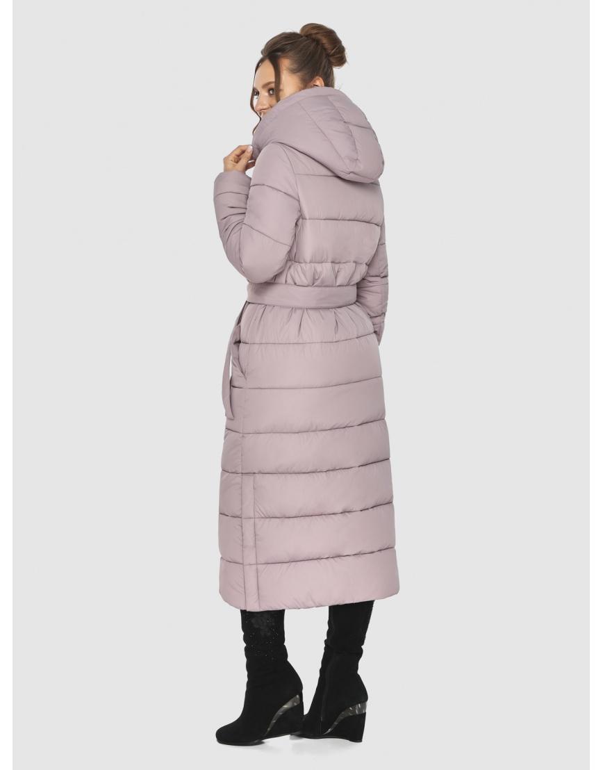 Тёплая пудровая куртка Ajento подростковая зимняя 21207 фото 4