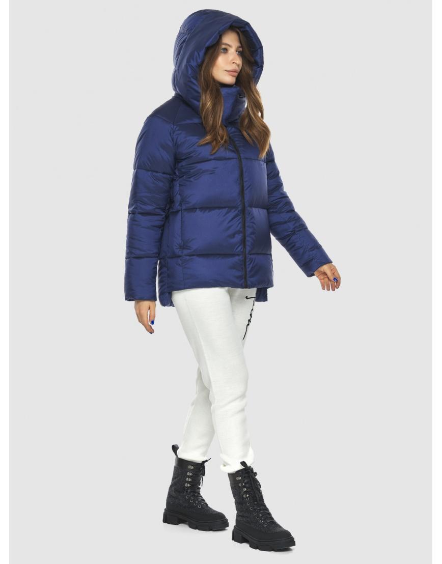 Синяя модная куртка женская Ajento 22430 фото 3