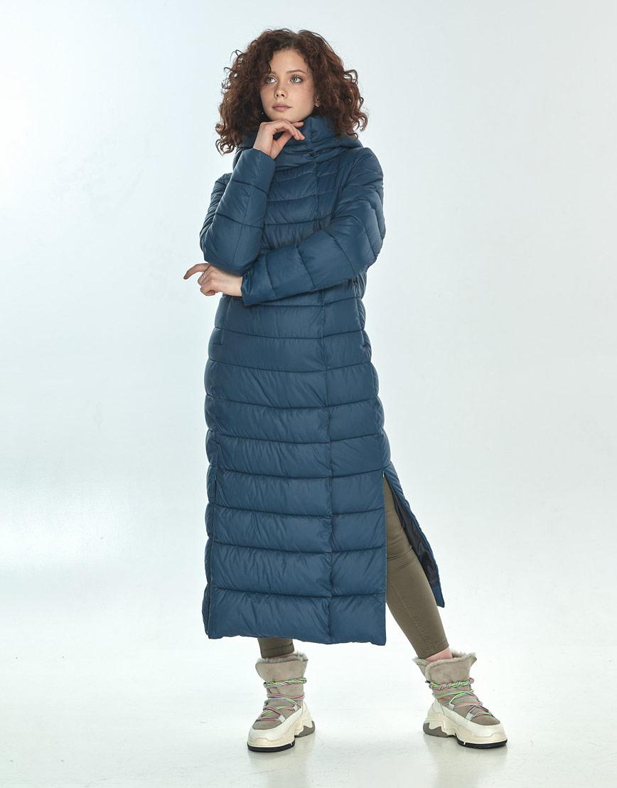 Практичная синяя куртка большого размера женская Moc M6210 фото 1