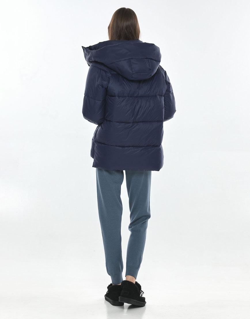 Куртка стильная синяя женская Vivacana 7354/21 фото 3