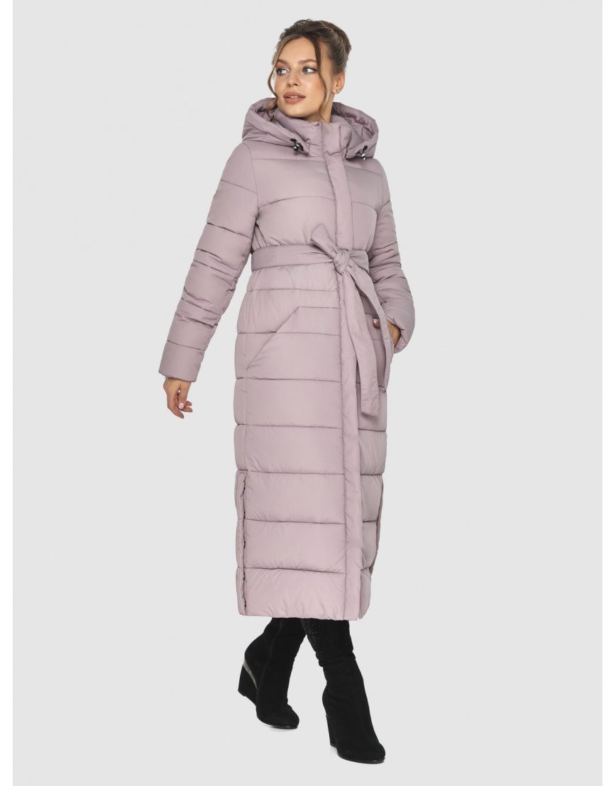 Тёплая пудровая куртка Ajento подростковая зимняя 21207 фото 1