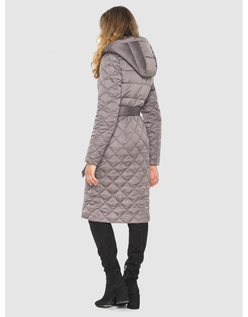 Пудровая женская удлинённая куртка Kiro Tokao 60096 фото 4
