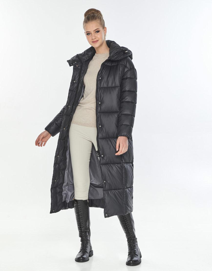 Фирменная куртка женская Tiger Force чёрная TF-50247 фото 2