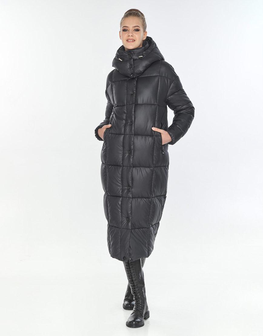 Фирменная куртка женская Tiger Force чёрная TF-50247 фото 1