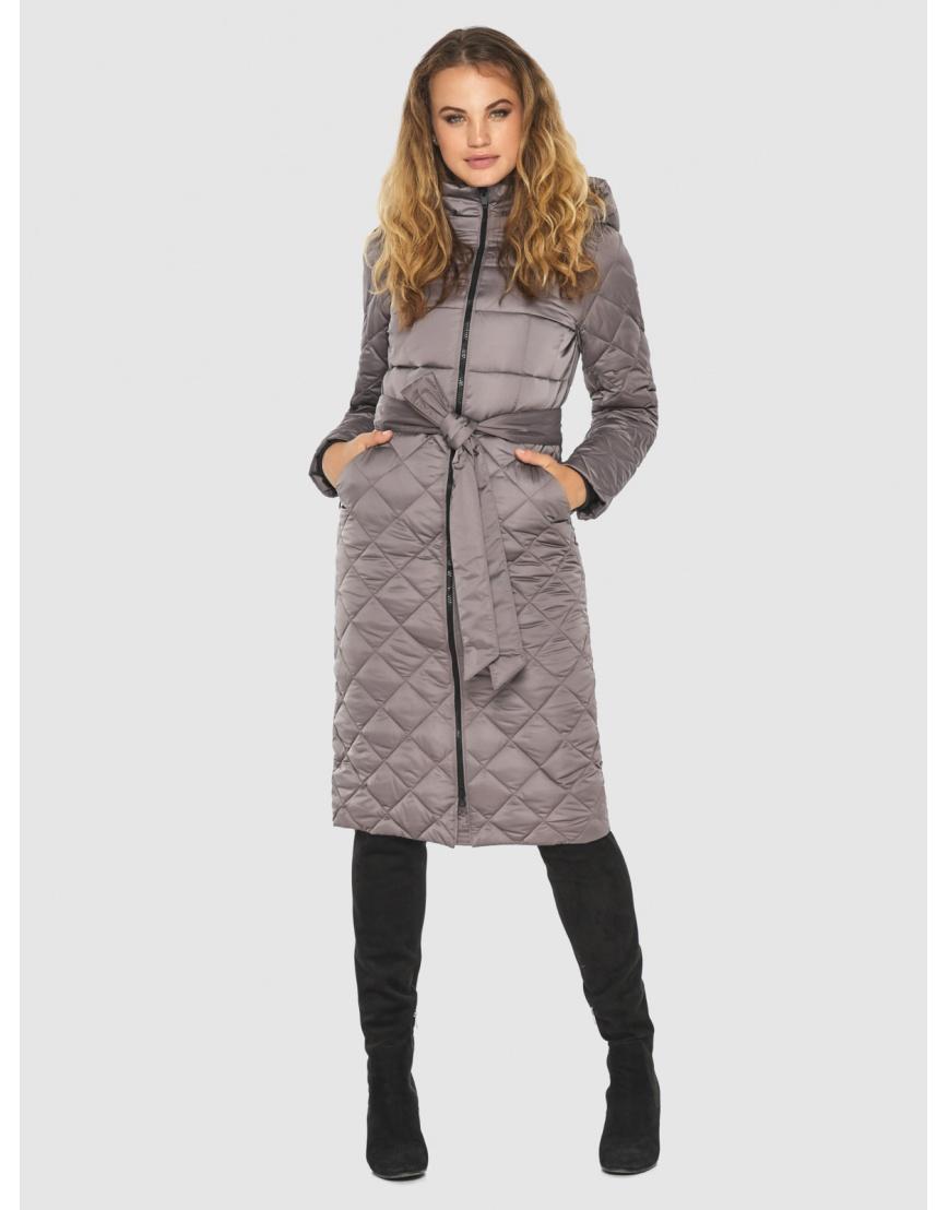 Пудровая женская удлинённая куртка Kiro Tokao 60096 фото 1