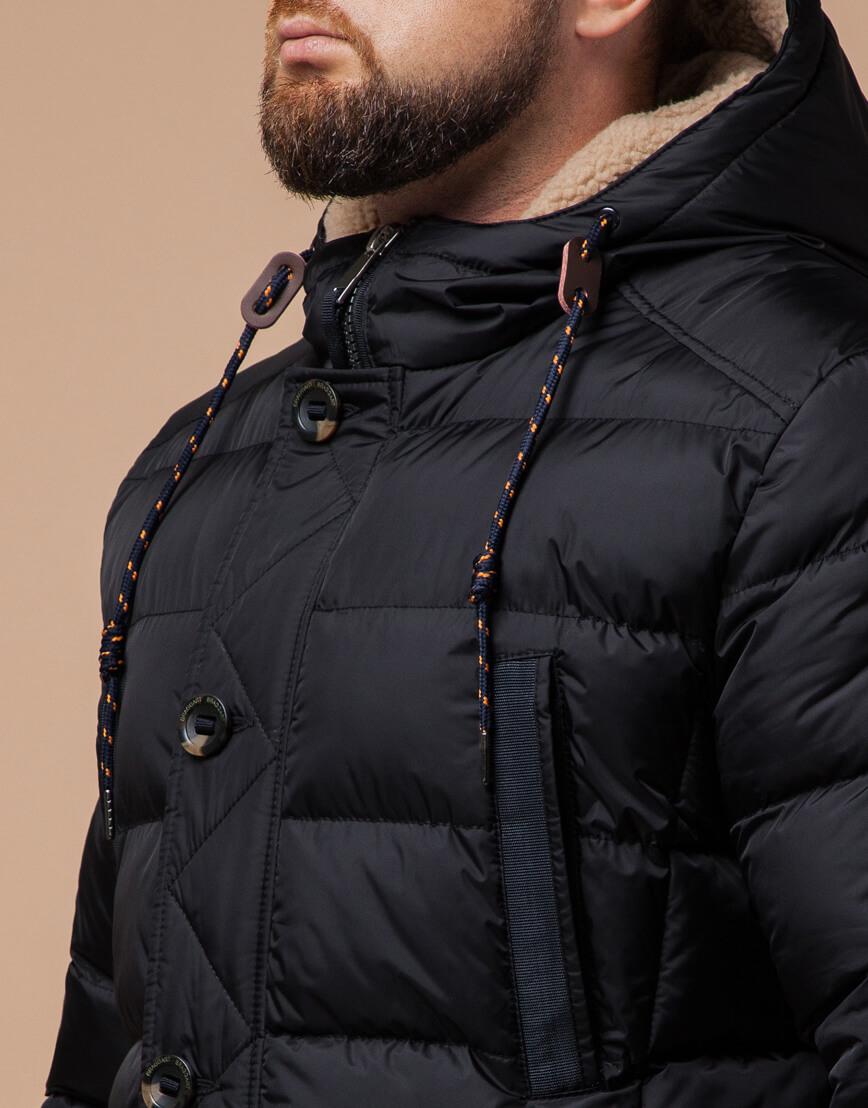 Зимняя куртка черного цвета модель 26402 фото 4