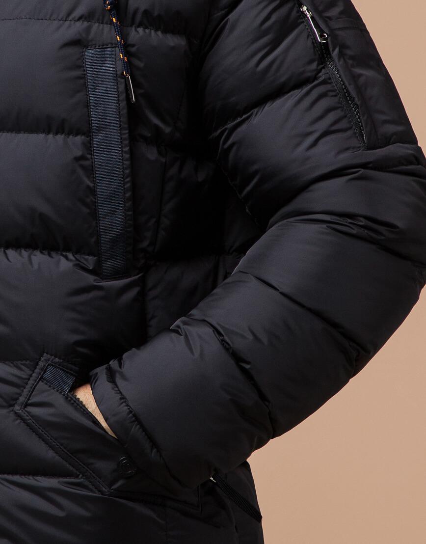Зимняя куртка черного цвета модель 26402 фото 5