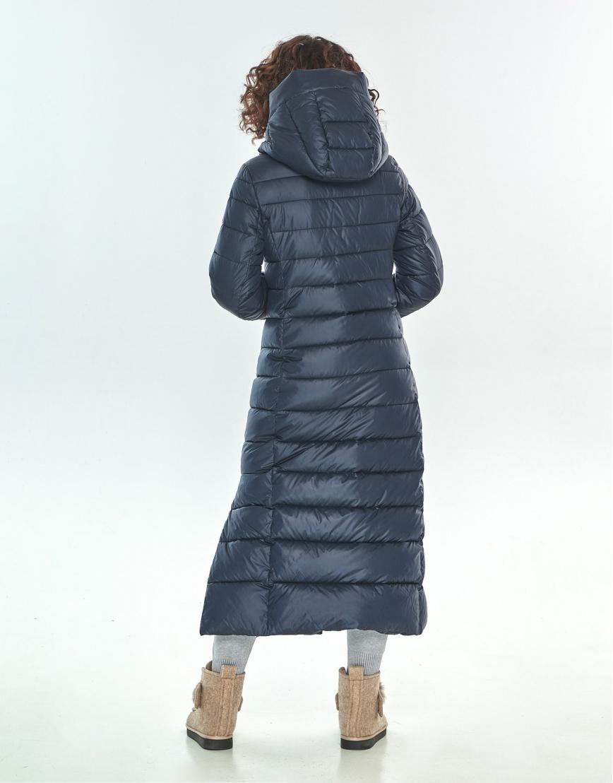 Зимняя куртка синяя женская Moc трендовая M6210 фото 3