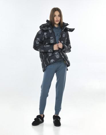 Оригинальная куртка с рисунком женская Vivacana 7354/21 фото 1