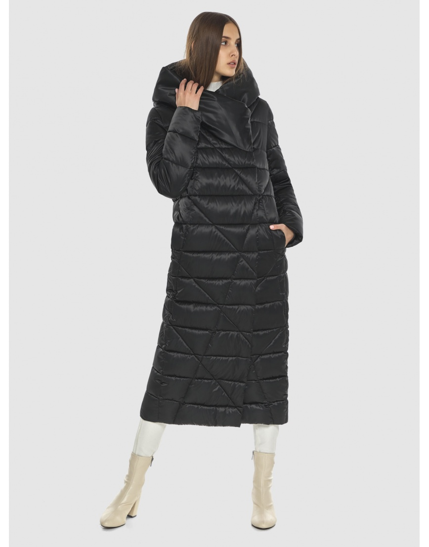 Оригинальная женская чёрная куртка Vivacana 9470/21 фото 6