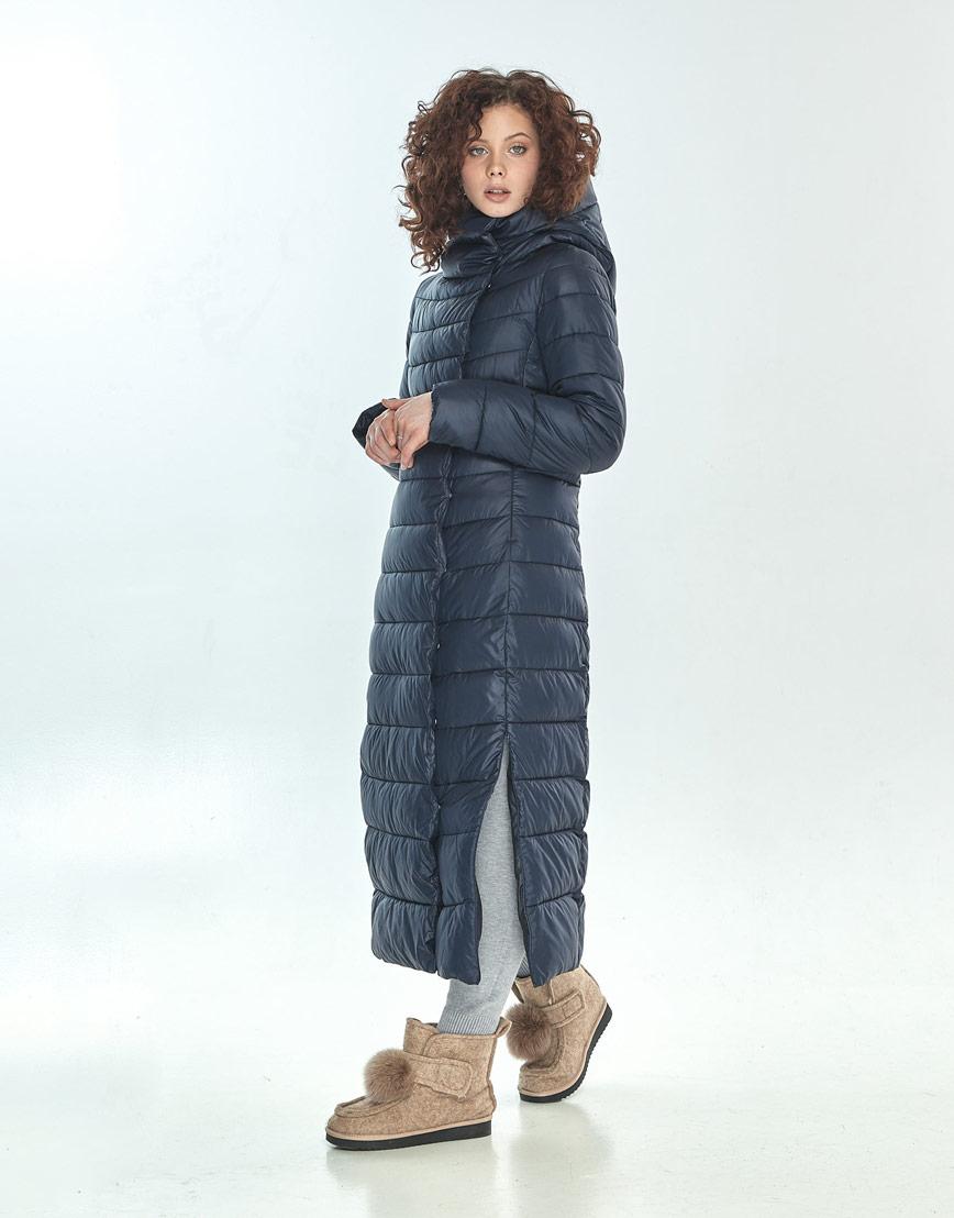 Оригинальная куртка большого размера синяя женская Moc M6210 фото 2