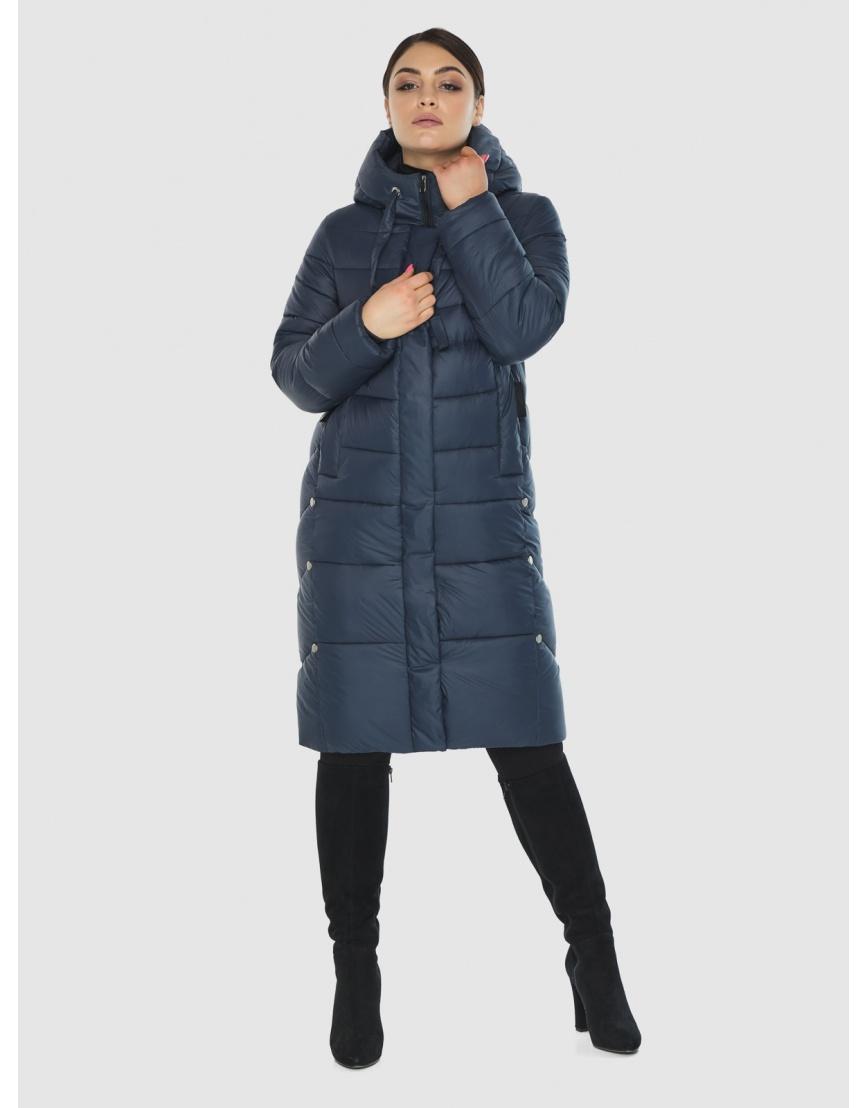 Стёганая куртка женская Wild Club цвет синий 541-94 фото 6