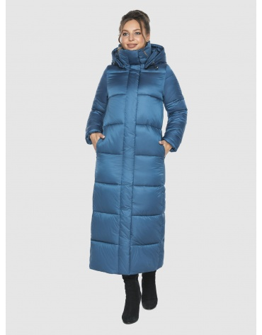 Куртка зимняя прямого силуэта подростковая Ajento аквамариновая 21972 фото 1