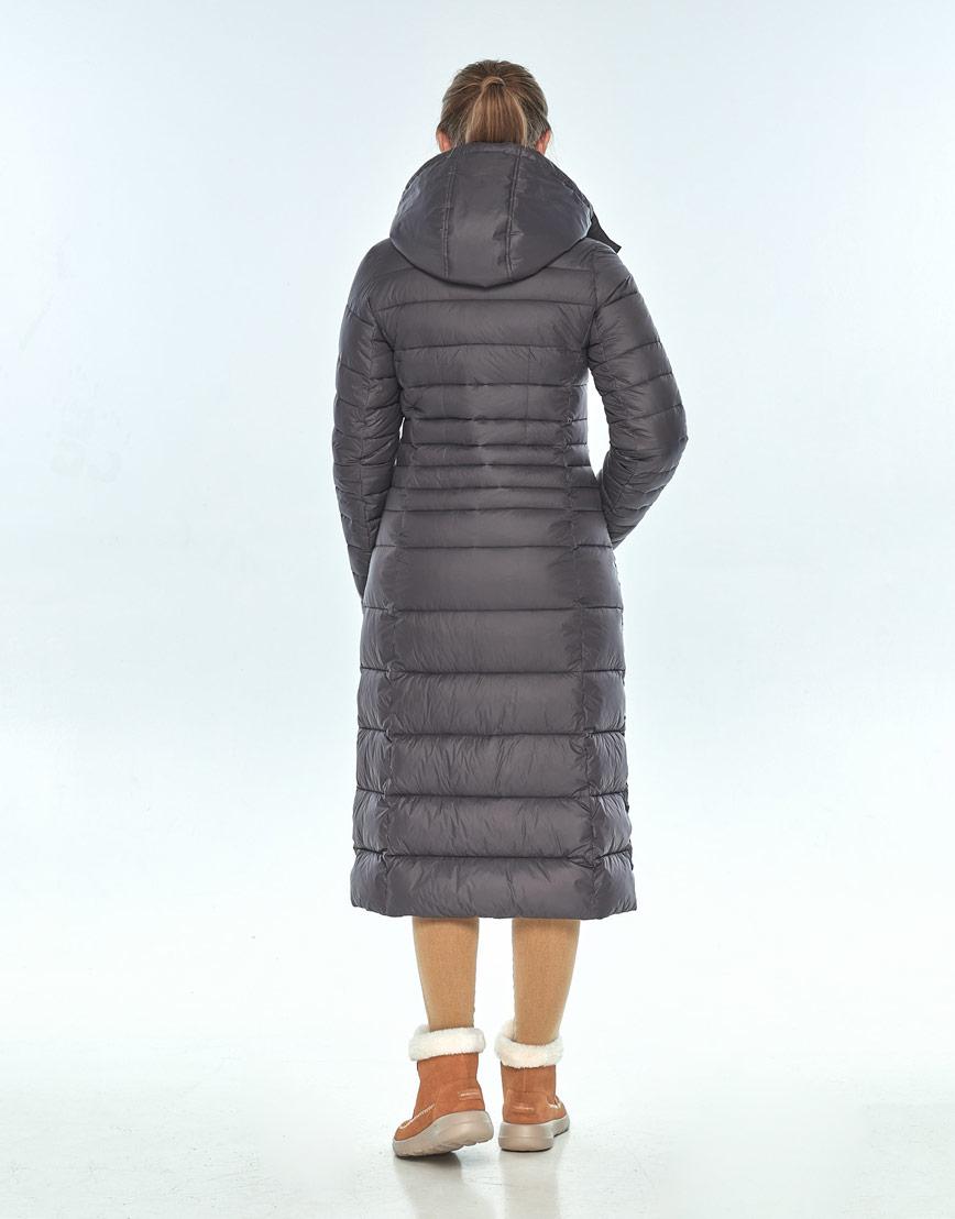 Куртка Ajento серая женская комфортная 21375 фото 3