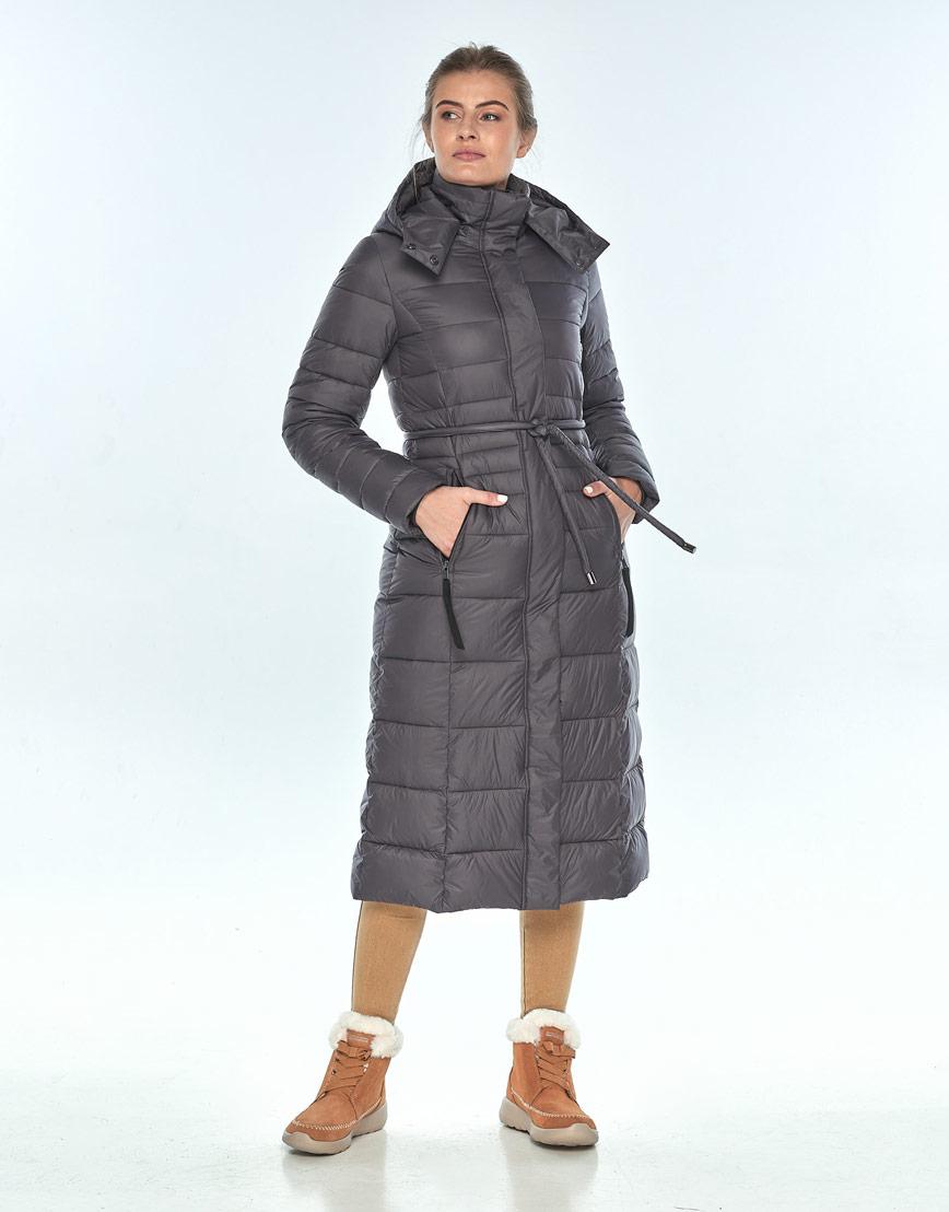 Куртка Ajento серая женская комфортная 21375 фото 1
