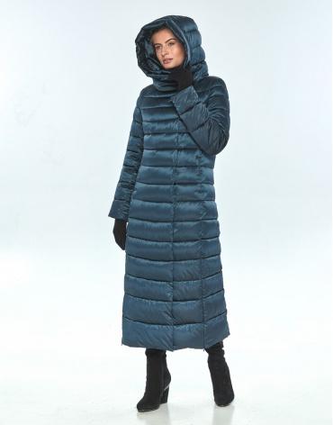 Куртка с карманами зелёная Ajento женская зимняя 23320 фото 1