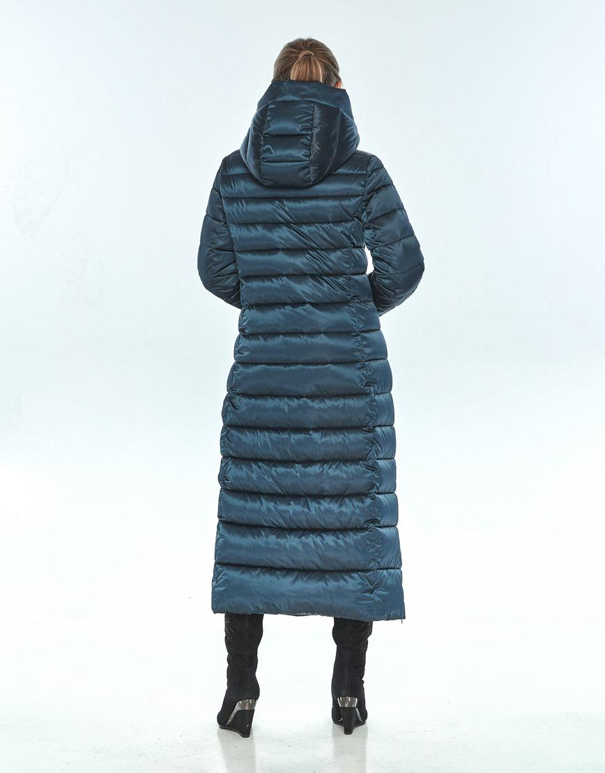 Куртка с карманами зелёная Ajento женская зимняя 23320 фото 3