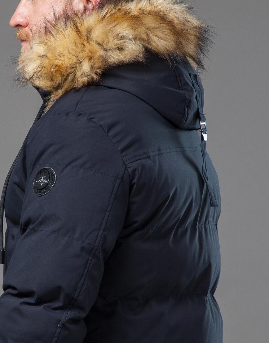 Оригинальная куртка синего цвета модель 78270 фото 7