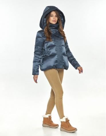 Куртка для осени женская Ajento трендовая синяя 23952 фото 1
