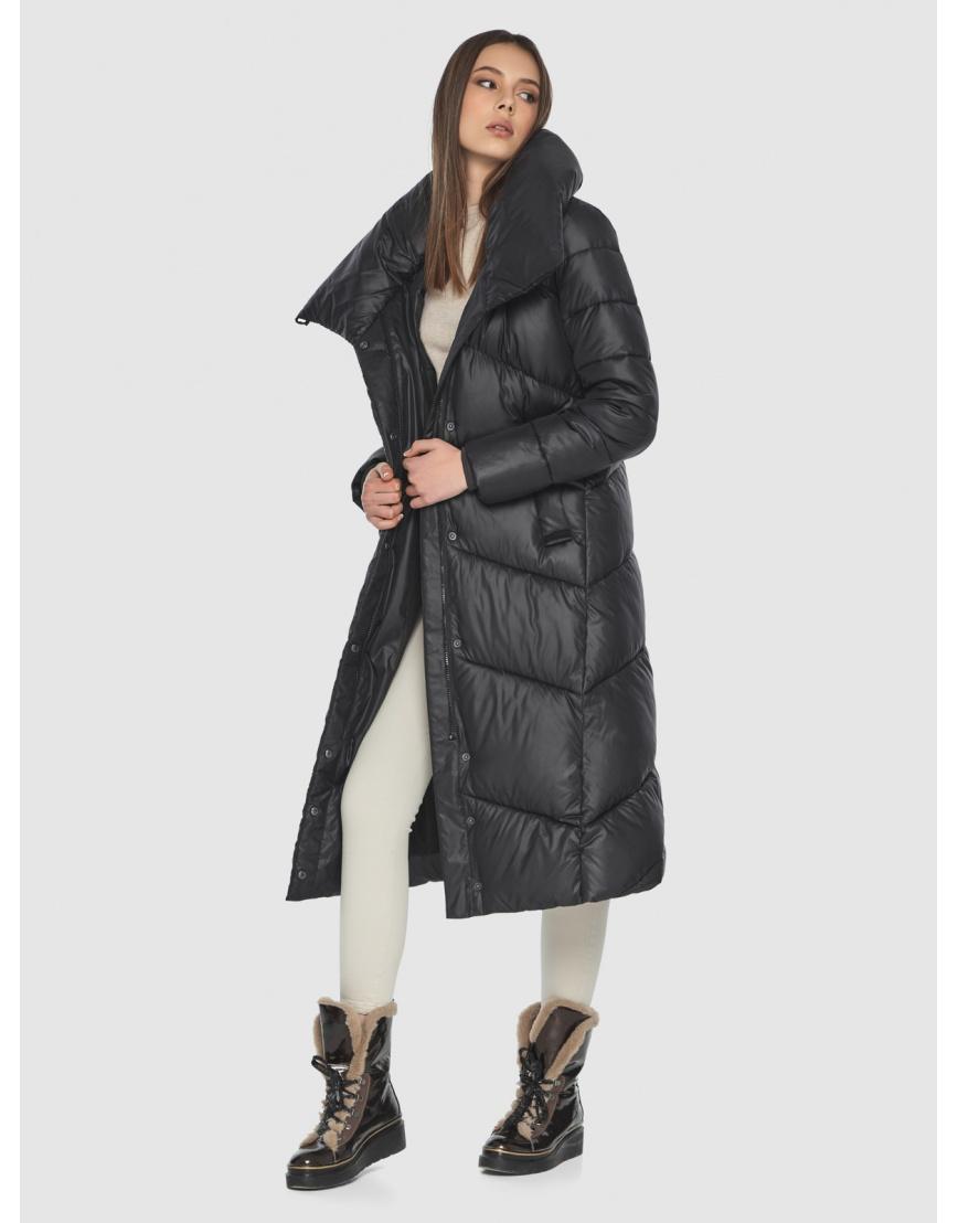 Женская современная куртка Wild Club чёрная 514-35 фото 2