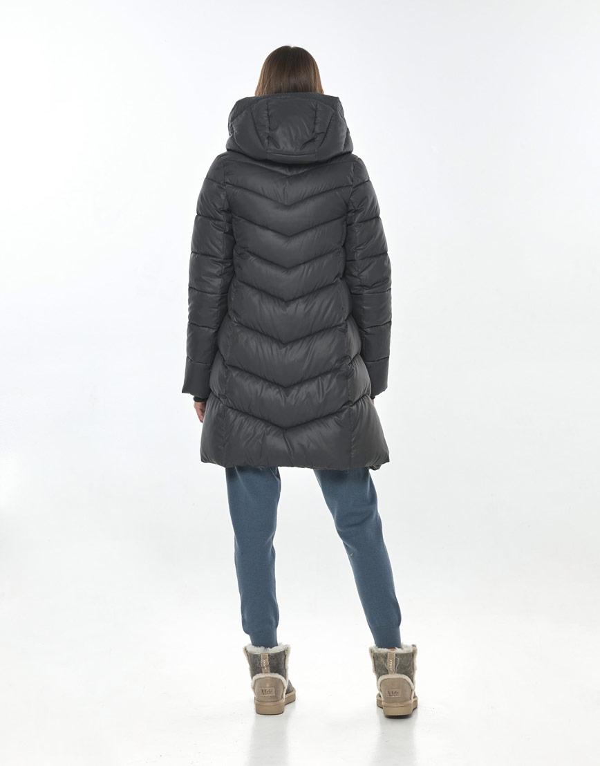 Комфортная куртка Vivacana серая женская 7821/21 фото 3