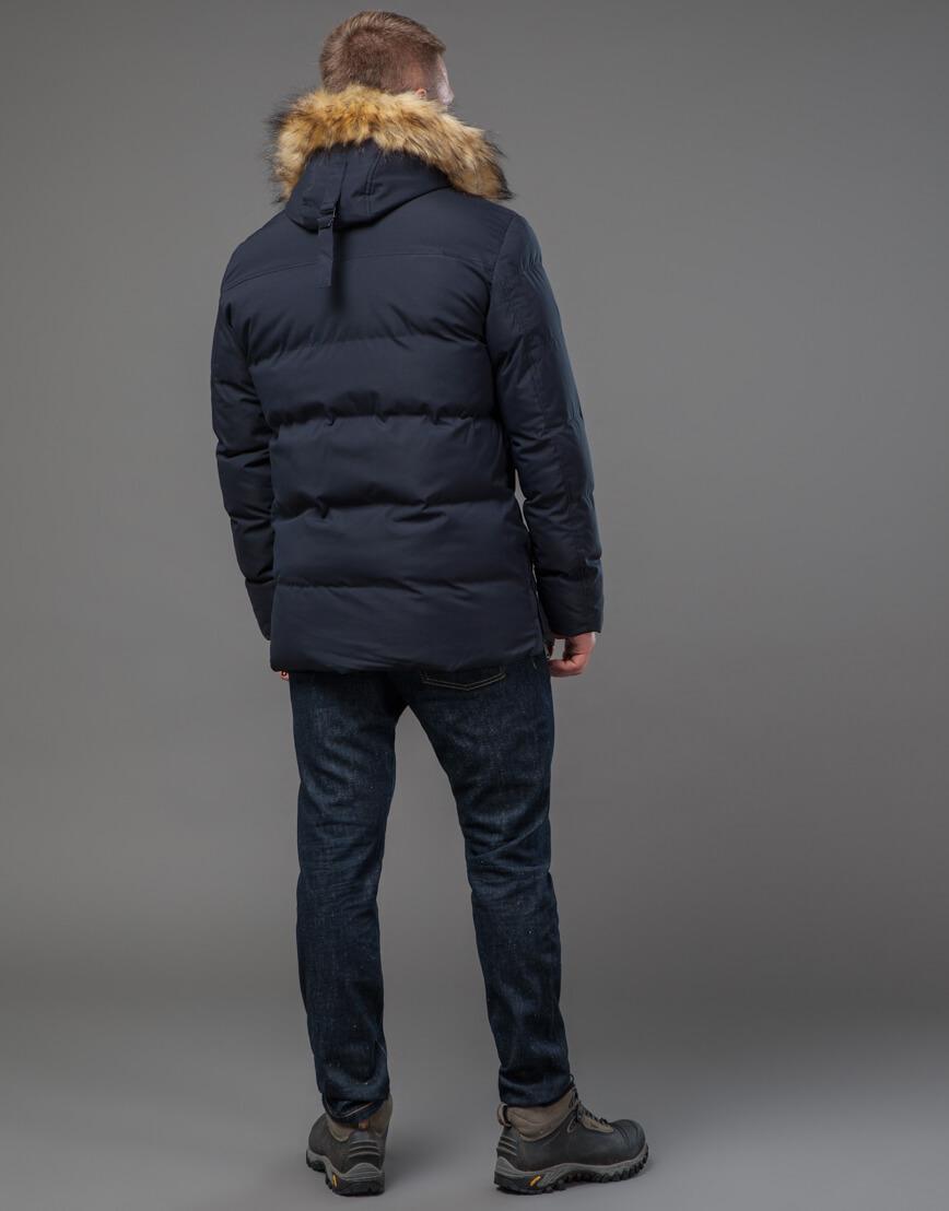 Оригинальная куртка синего цвета модель 78270 фото 4