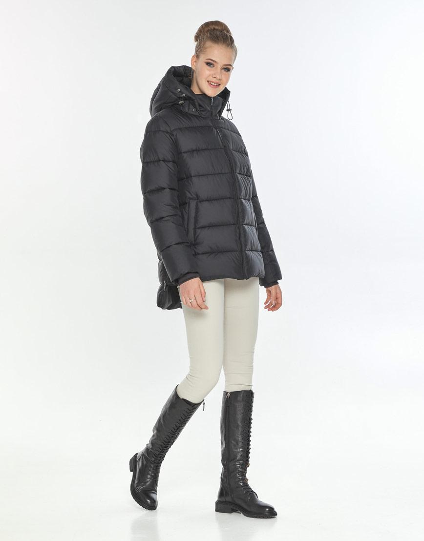 Модная куртка женская Tiger Force чёрная осенняя TF-50264 фото 1