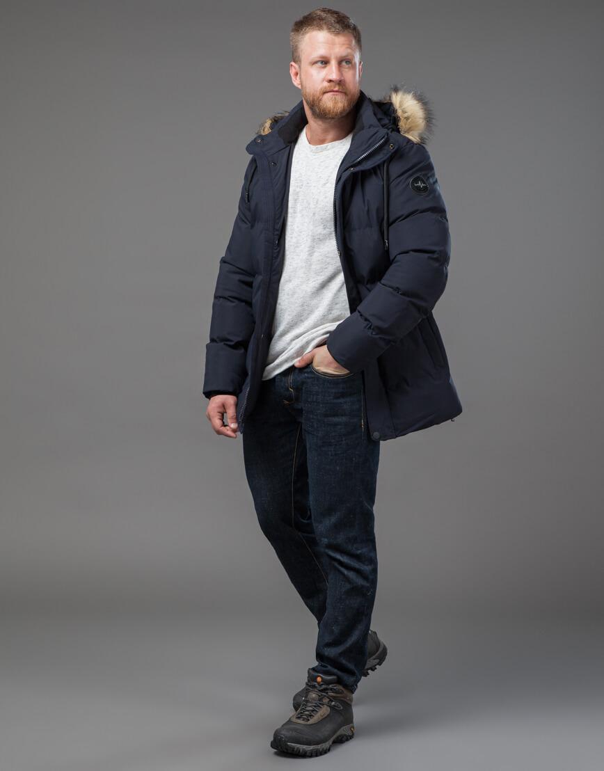Оригинальная куртка синего цвета модель 78270 фото 3