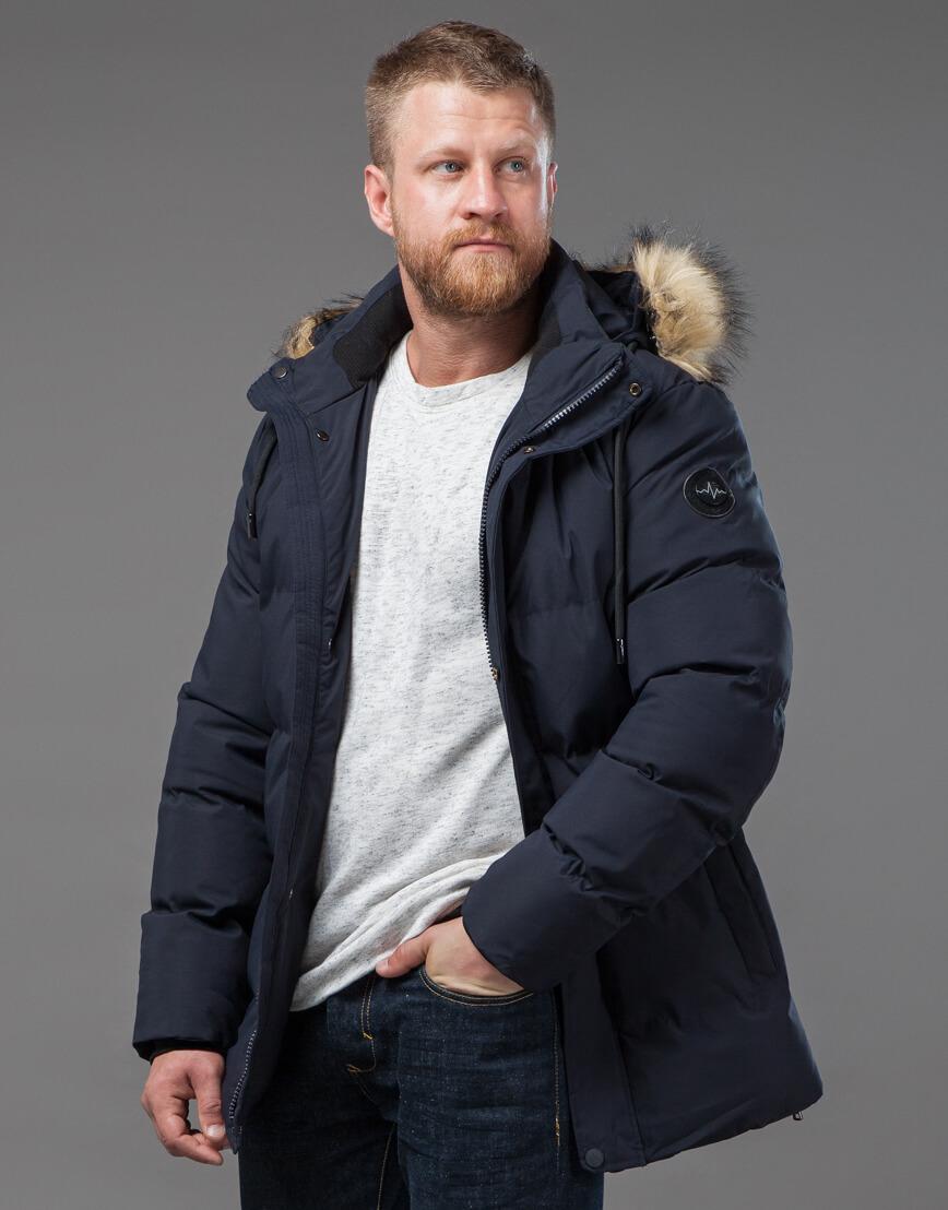Оригинальная куртка синего цвета модель 78270 фото 1