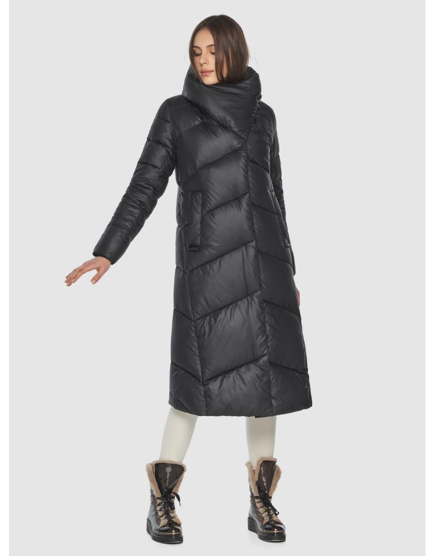 Женская современная куртка Wild Club чёрная 514-35 фото 1