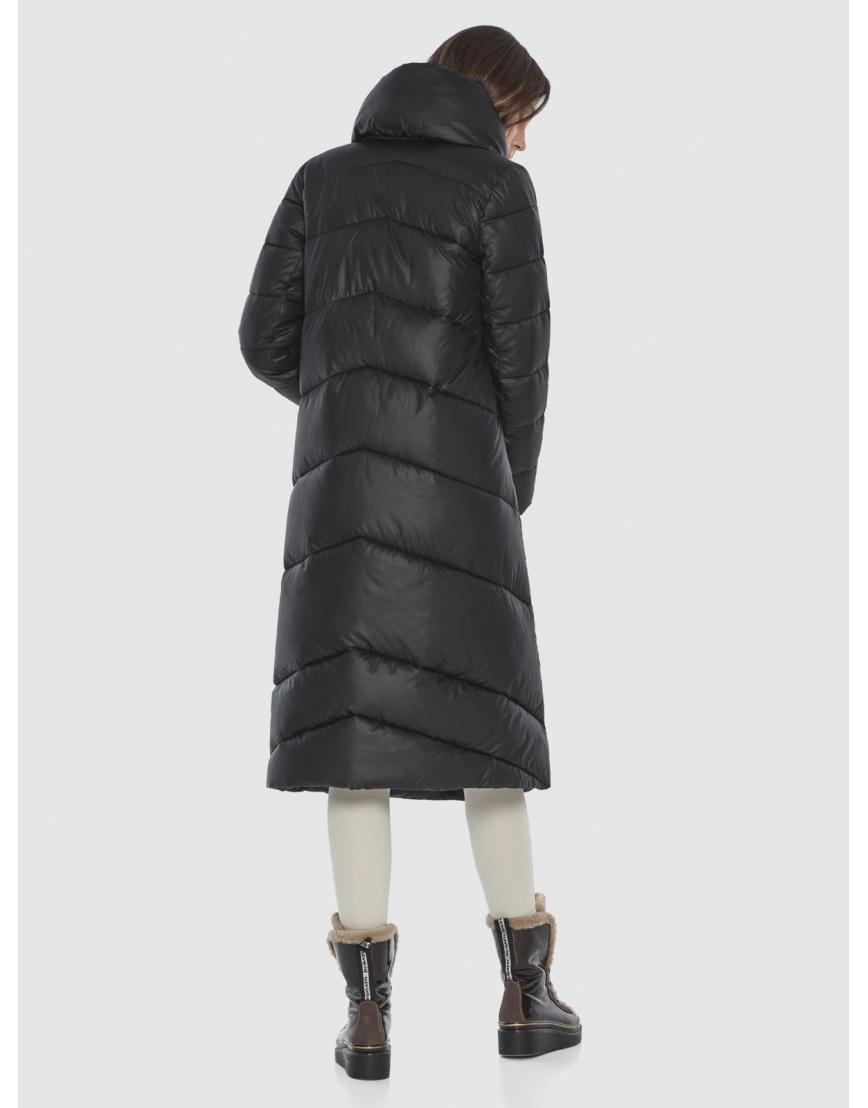 Женская современная куртка Wild Club чёрная 514-35 фото 5