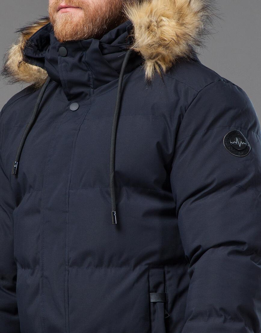 Оригинальная куртка синего цвета модель 78270 фото 5