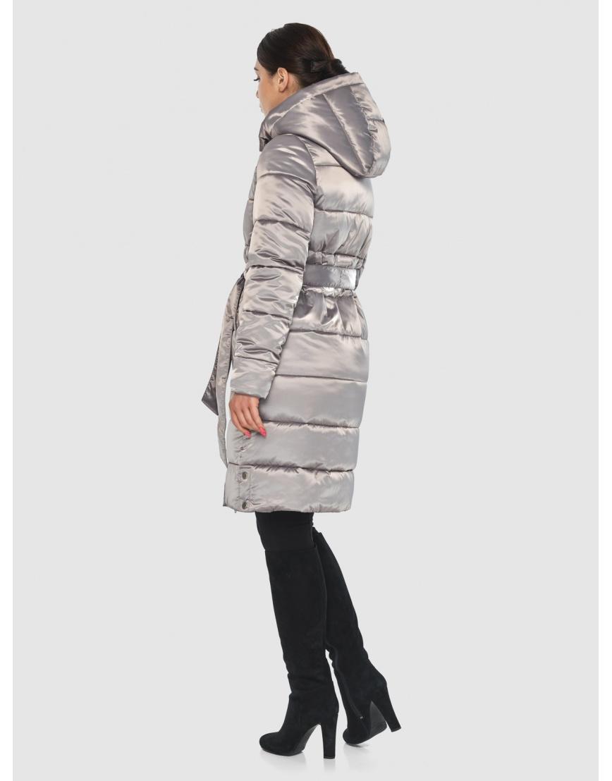 Кварцевая элегантная женская курточка Wild Club 584-52 фото 4
