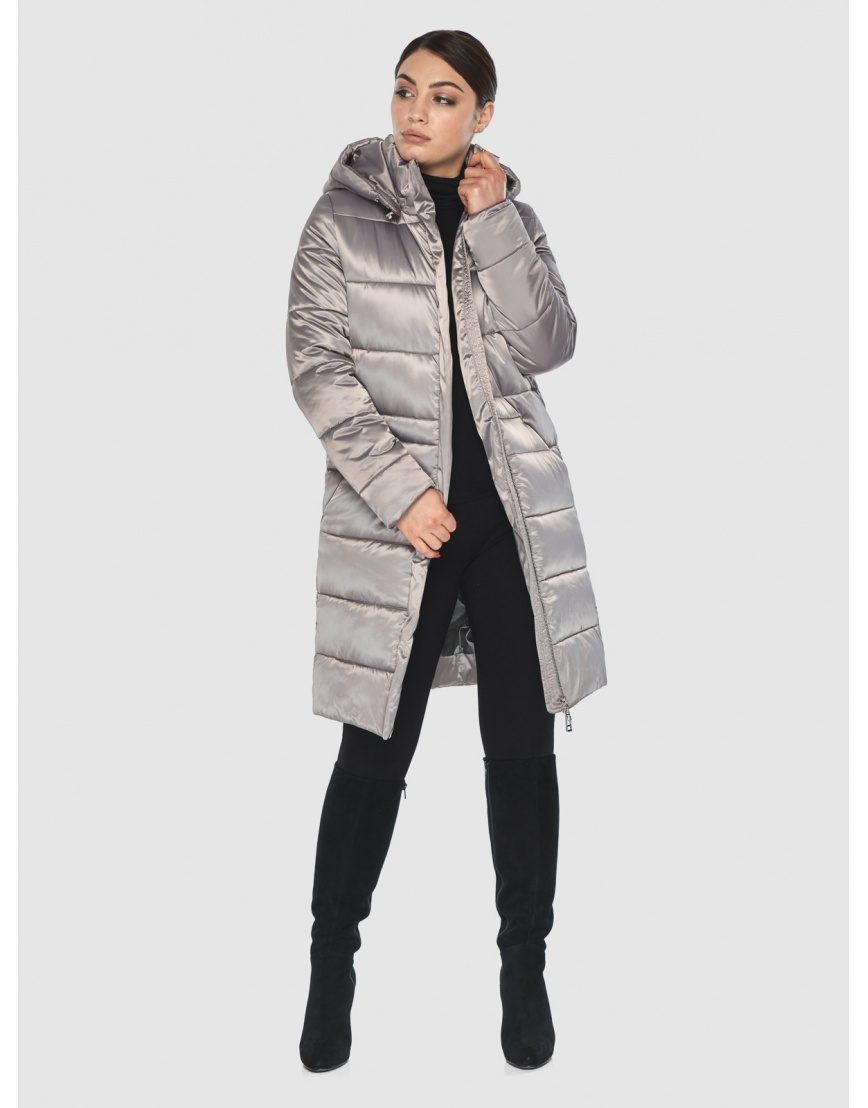 Кварцевая элегантная женская курточка Wild Club 584-52 фото 6
