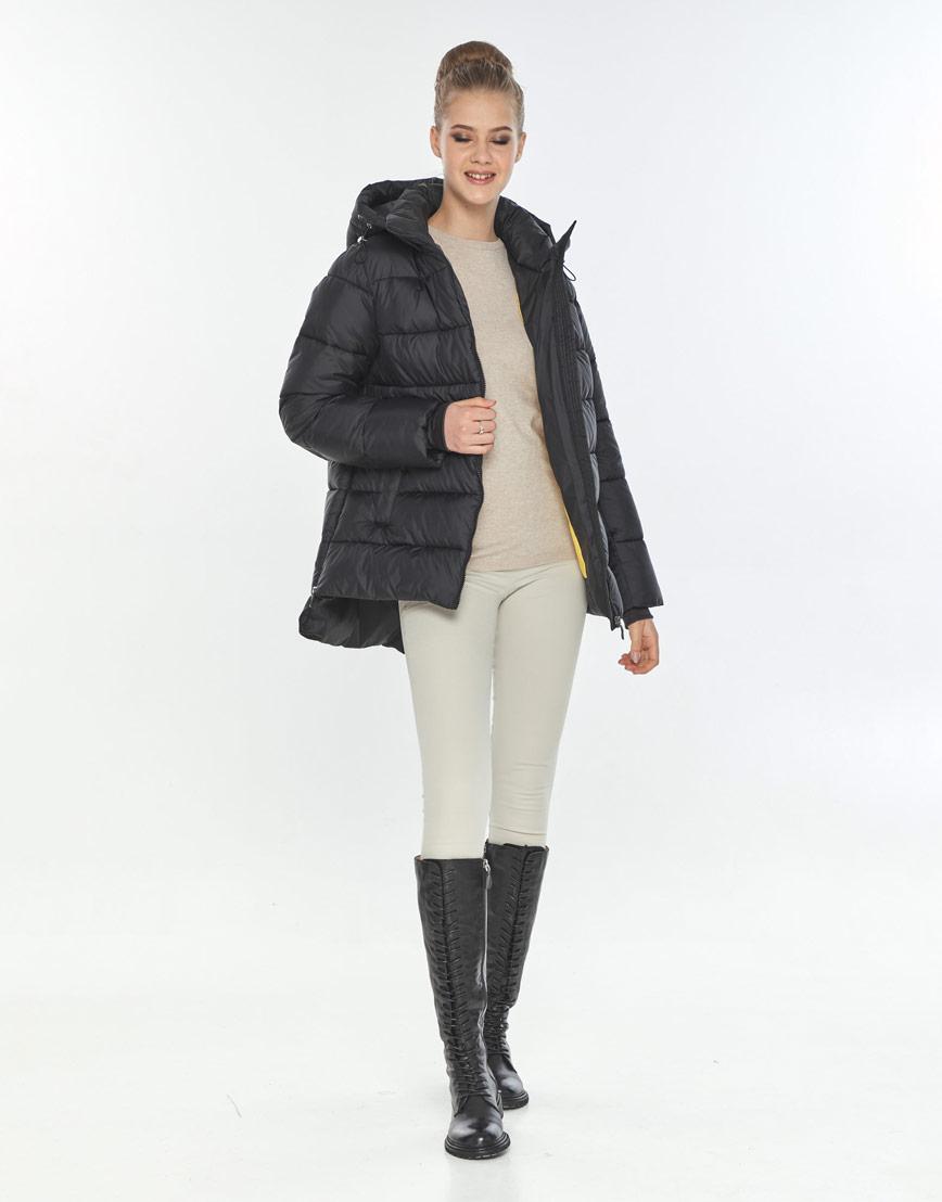 Модная куртка женская Tiger Force чёрная осенняя TF-50264 фото 2