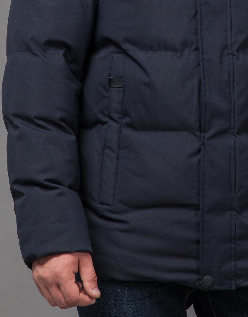 Оригинальная куртка синего цвета модель 78270 фото 6