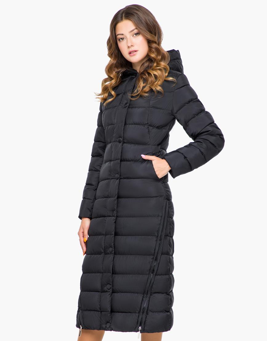 Черная женская куртка высокого качества модель 925