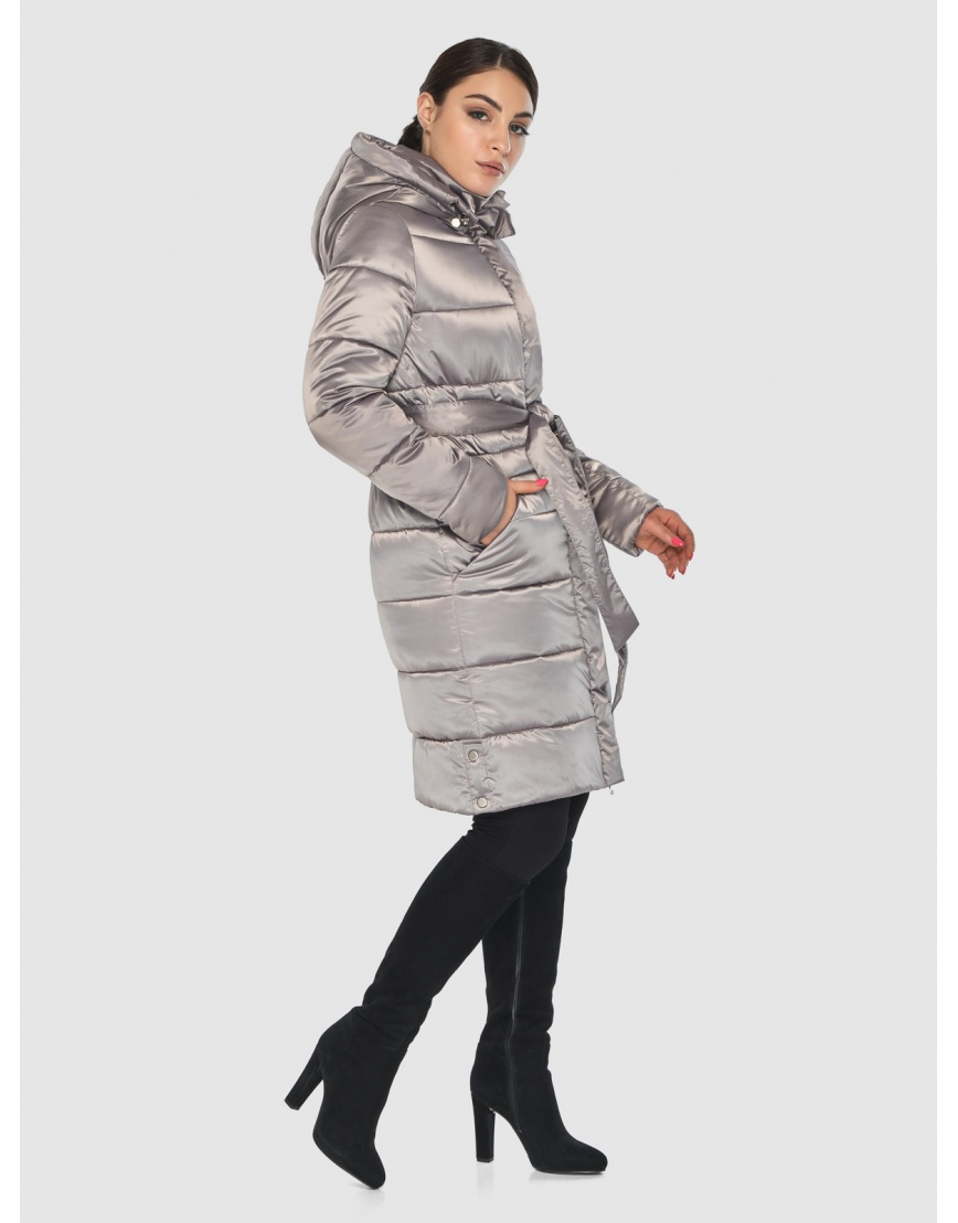 Кварцевая элегантная женская курточка Wild Club 584-52 фото 5