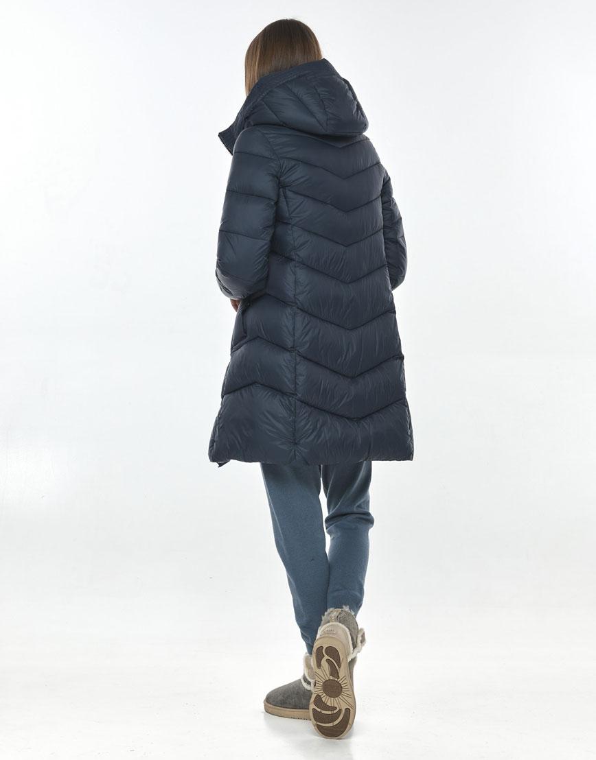 Практичная осенне-весенняя куртка синяя женская Vivacana 7821/21 фото 3