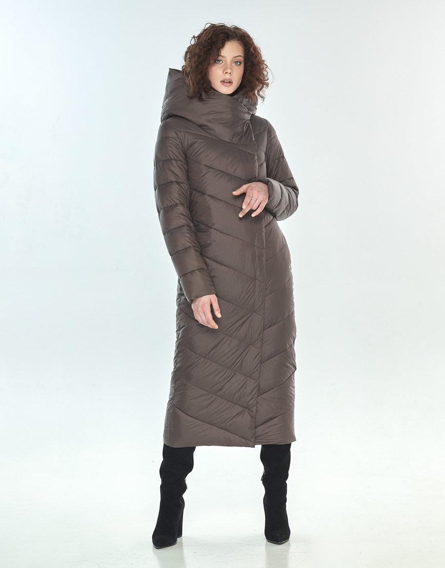 Комфортная капучиновая куртка большого размера женская Moc M6471 фото 1