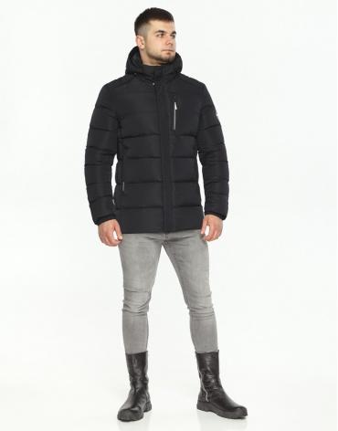 Куртка черная мужская комфортная модель 36570